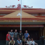 The Gang's all here: Ken Senior joins us at the Minh Dam shrine